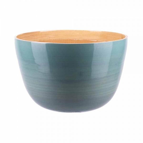 Albert L Schüssel Bambus 22x14 eisblau