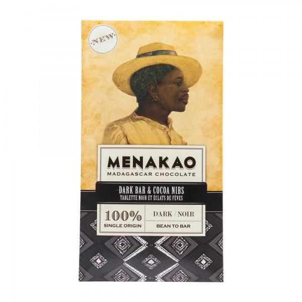 Menakao | Schokolade 100% Kakao Nibs