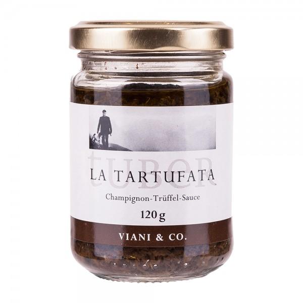 Viani | Tartufata | Trüffelsauce mit Sommertrüffeln und Champignons | 120g