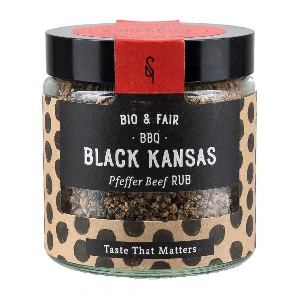 Soul Spice Gewürze | BBQ Black Kansas 75g [BIO] [FAIR]