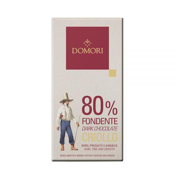 Domori Schokolade | Criollo 80% | 50g