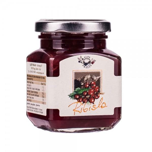 Alpe Pragas Rote Johannisbeere Fruchtaufstrich 70% 110g