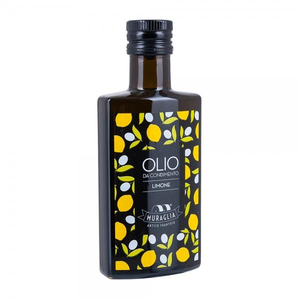Muraglia | Olivenöl mit Zitrone | Olio da Condimento Limone | 200ml