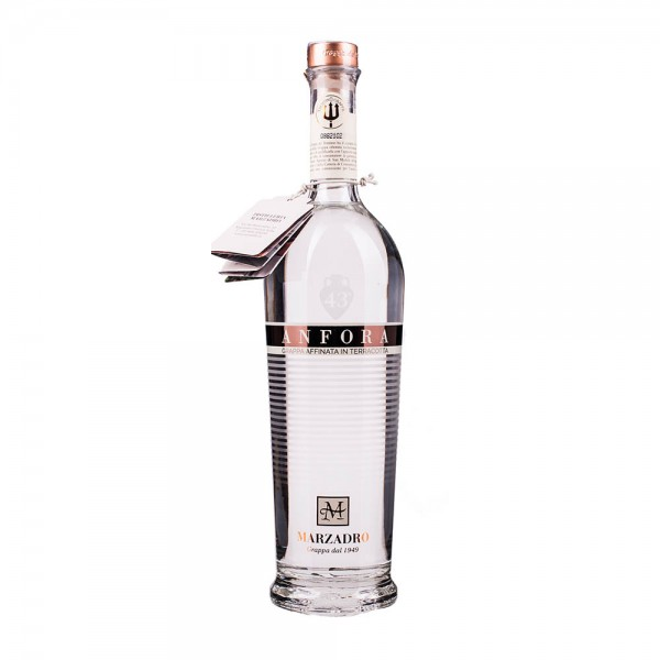 Marzadro Anfora Grappa Affinata in Terracotta 700 ml