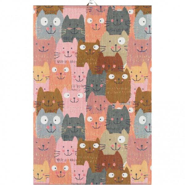 Ekelund Handtuch Katzen