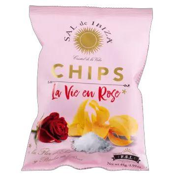 Sal de Ibiza   Chips La Vie en Rose 45g