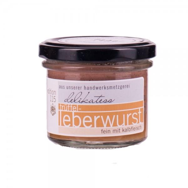Faber Feinkost | Trüffel Leberwurst mit Kalbfleisch