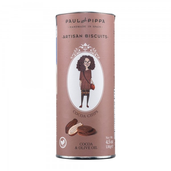 Paul and Pippa | Cocoa Chips | Schokokekse | 130g [BIO]