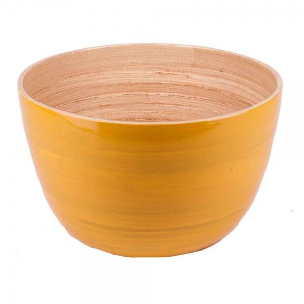 Albert L Schüssel Bambus 22x14 gelb