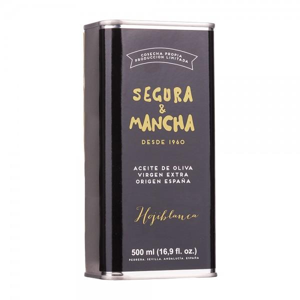Segura & Mancha Olivenöl Hojiblanca Extra Nativ Dose 500ml