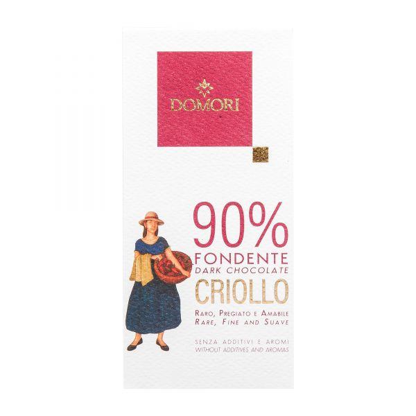 Domori Schokolade   Criollo 90%   50g