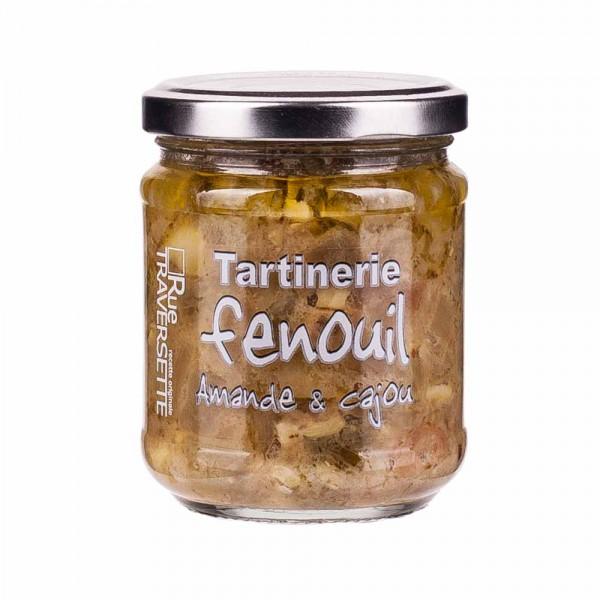 Rue Traversette Tartinerie Fenchel mit Mandeln und Cashewkernen