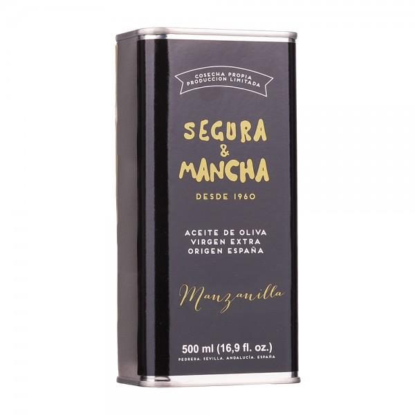 Segura & Mancha Olivenöl Manzanilla Extra Nativ Dose 500ml