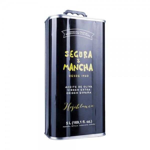 Segura & Mancha Olivenöl Hojiblanca Extra Nativ Dose 5000ml