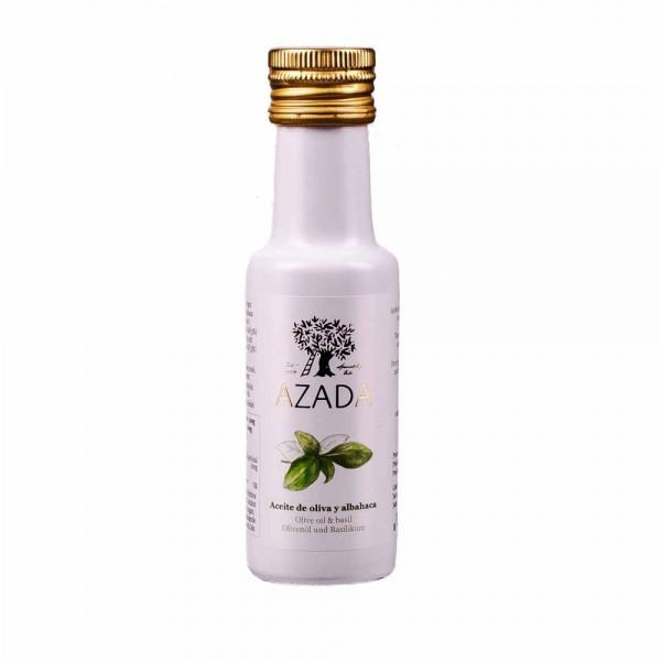 Azada Olivenöl Extra Nativ mit Basilikum 100ml