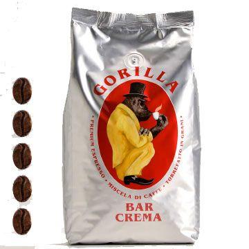 Gorilla Kaffee | Bar Crema | Silber | 1kg