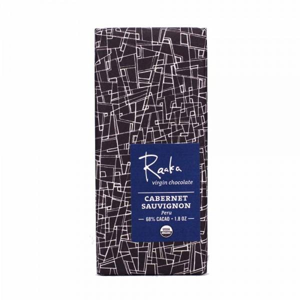 Raaka Chocolate Cabernet Sauvignon Fermentation 68%