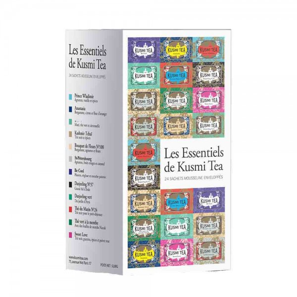 Kusmi Tea | Les Essentials | 24 Teebeutel