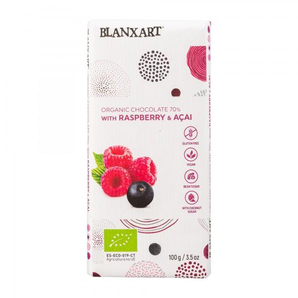 Blanxart | Schokolade mit Kokosblütenzucker und Acai Beeren