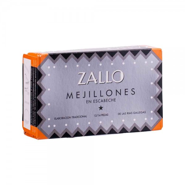 Zallo | Miesmuscheln in Marinade | 70g