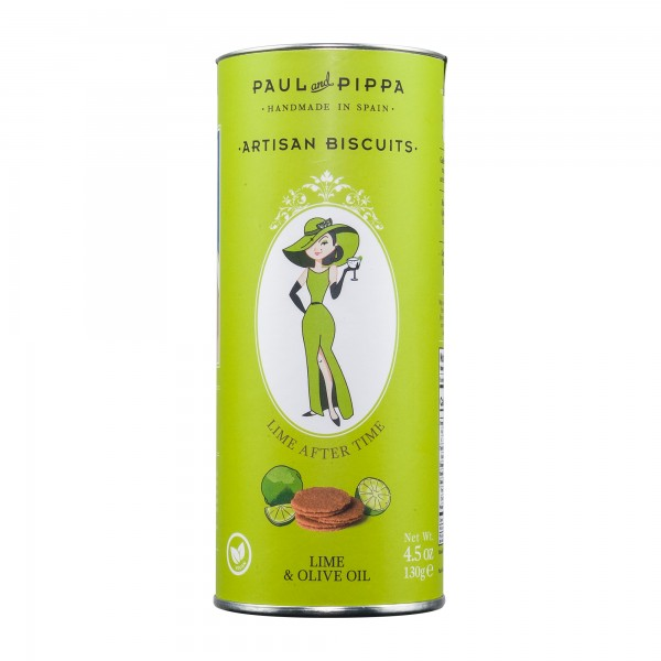 Paul and Pippa   Lime after Time   Zitronenkekse   130g [BIO]