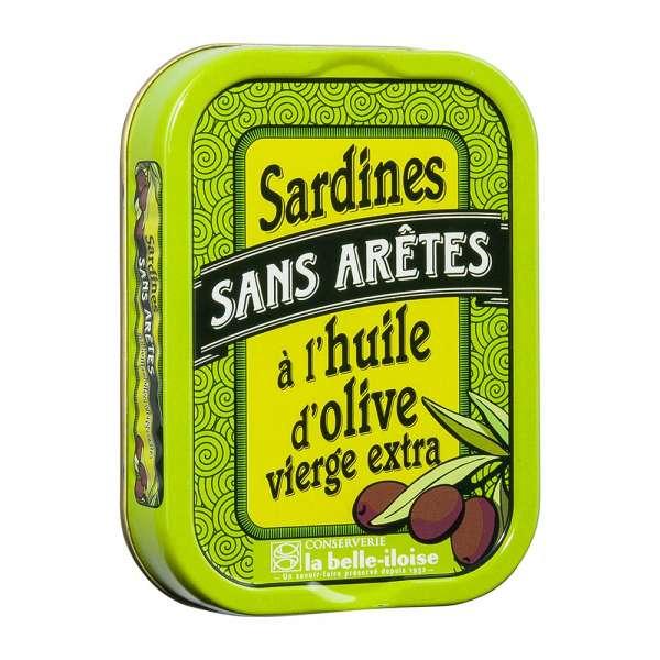 La belle-iIloise | Sardinen ohne Gräten in Olivenöl | 115g