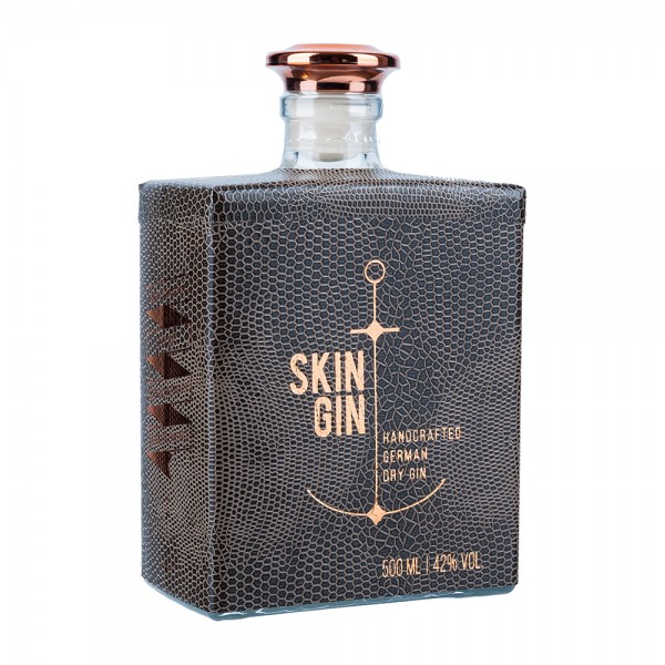 Skin Gin Handcraftet Dry Gin Reptile Brown