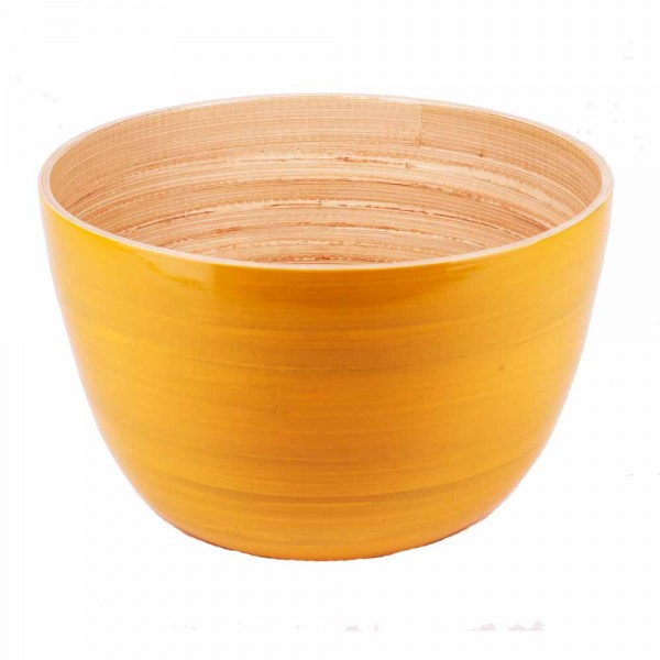 Albert L Schüssel Bambus 15x10 gelb