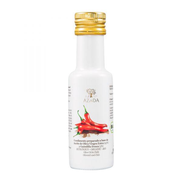 Azada | Olivenöl mit Chili | 100ml