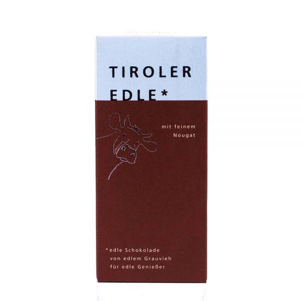 Tiroler Edle | Schokolade mit Nougat