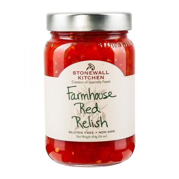 Farmhouse Red Relish von Stonewall Kitchen | Amerikanische Sauce online bestellen