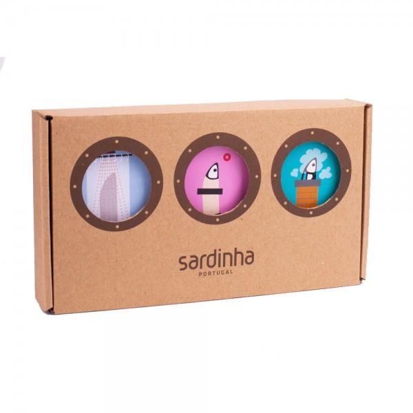 A Banca da Sardinha | Sardinen Geschenk Deluxe | 255g
