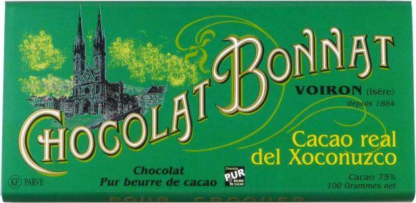 Bonnat Schokolade | Cacao Real del Xoconuzco 75% | dunkle Schokolade