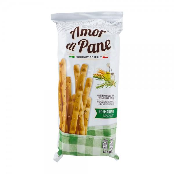 Amor di Pane | Grissini mit Olivenöl und Rosmarin