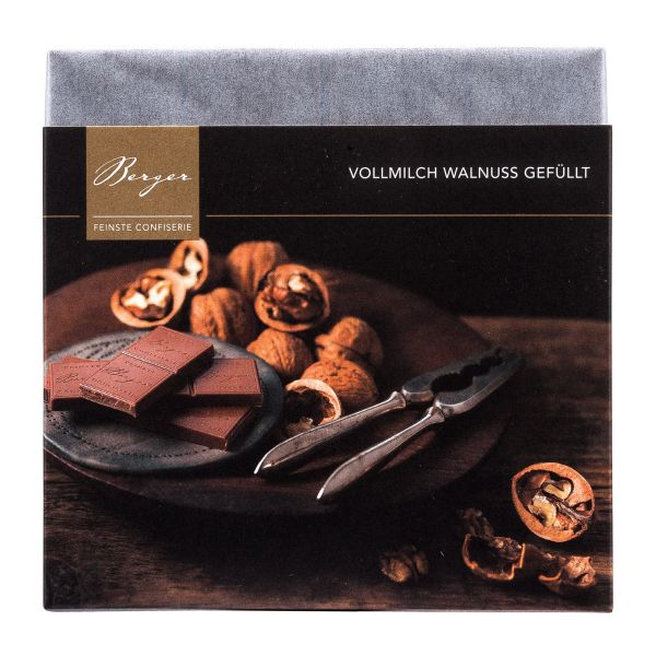 Berger Schokolade   Vollmilch Walnuss