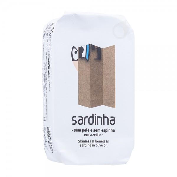 A Banca da Sardinha Sardinen ohne Haut und Gräten in Olivenöl