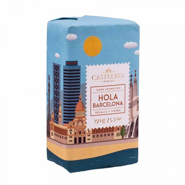 Castelbel | Seife Hola Barcelona | Hello Cities | 150g