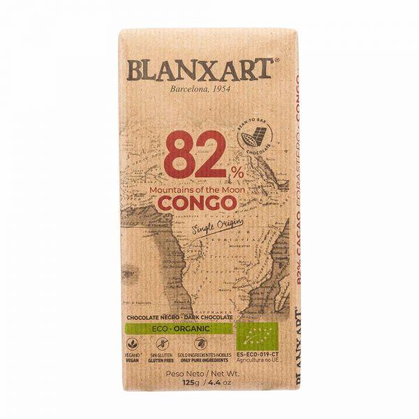 Blanxart Schokolade   Edelbitter Kongo 82%