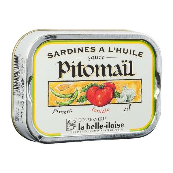La belle-iIloise | Sardinen Pitomail | 115g