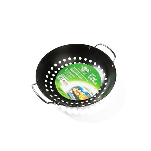 Big Green Egg Grill Wok rund - gelocht