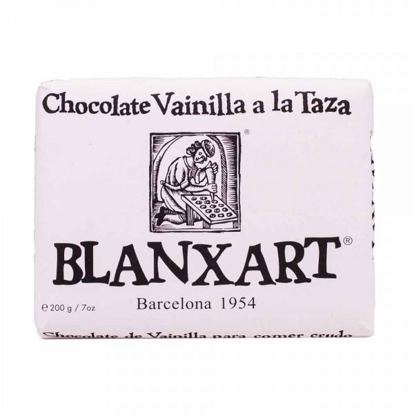 Blanxart Schokolade Trinkschokolade in Tafelform mit Vanille