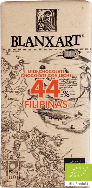 Blanxart Schokolade Vollmilch Philippinen 44% [BIO]