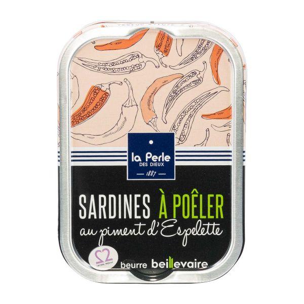 La Perle | Sardinen zum Braten Piment d'Espelette
