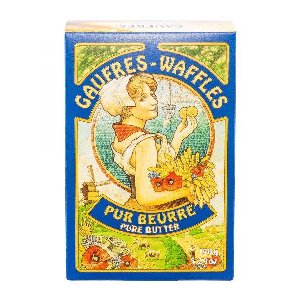 Butterwaffeln | La Veritable Gaufre | pur Beurre | 150g