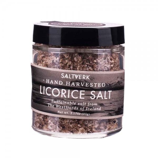 Saltverk | Iceland Licorice Salt | Lakritzsalz | 90g