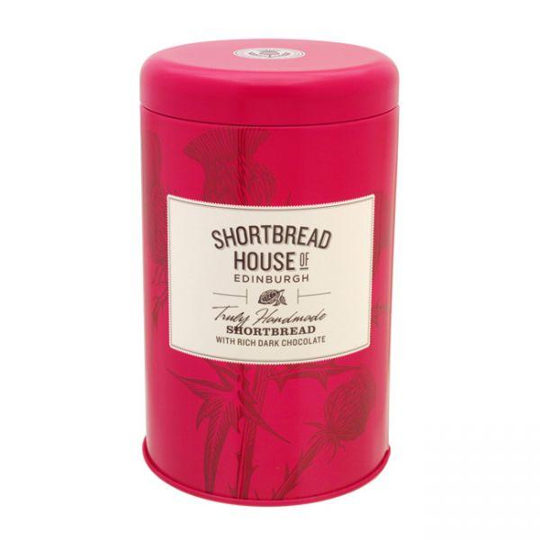 Shortbread Biscuit Tin | Dark chocolate | 140g
