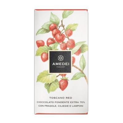 Amedei Toscano Red Tafel Schokolade