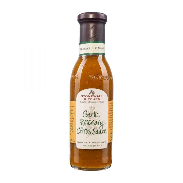 Stonewall Kitchen | Garlic Rosemary Citrus Sauce | Grillsauce