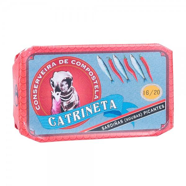 Catrineta | Kleine Sardinen in Olivenöl mit Chili |