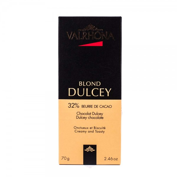 Valrhona Schokolade Blond Dulcey
